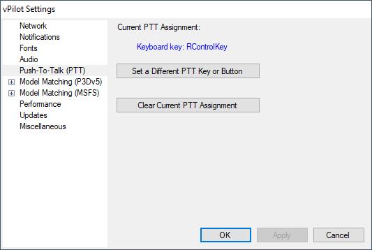 Documentation - vPilot - Pilot Client for VATSIM